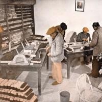 Taller del Hogar de Ancianos en Burzaco