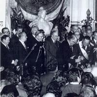 El 12 de octubre de 1973, Perón asume por tercera vez la Presidencia de la Nación