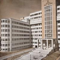 Hospital Cosme Argerich en el barrio de La Boca, Buenos Aires
