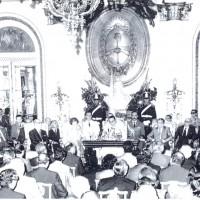 El 21 de diciembre de 1973, el Presidente de la Nación, Tte. Gral. Juan D. Perón anuncia el Plan Trienal