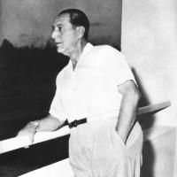 El general Perón en Santo Domingo
